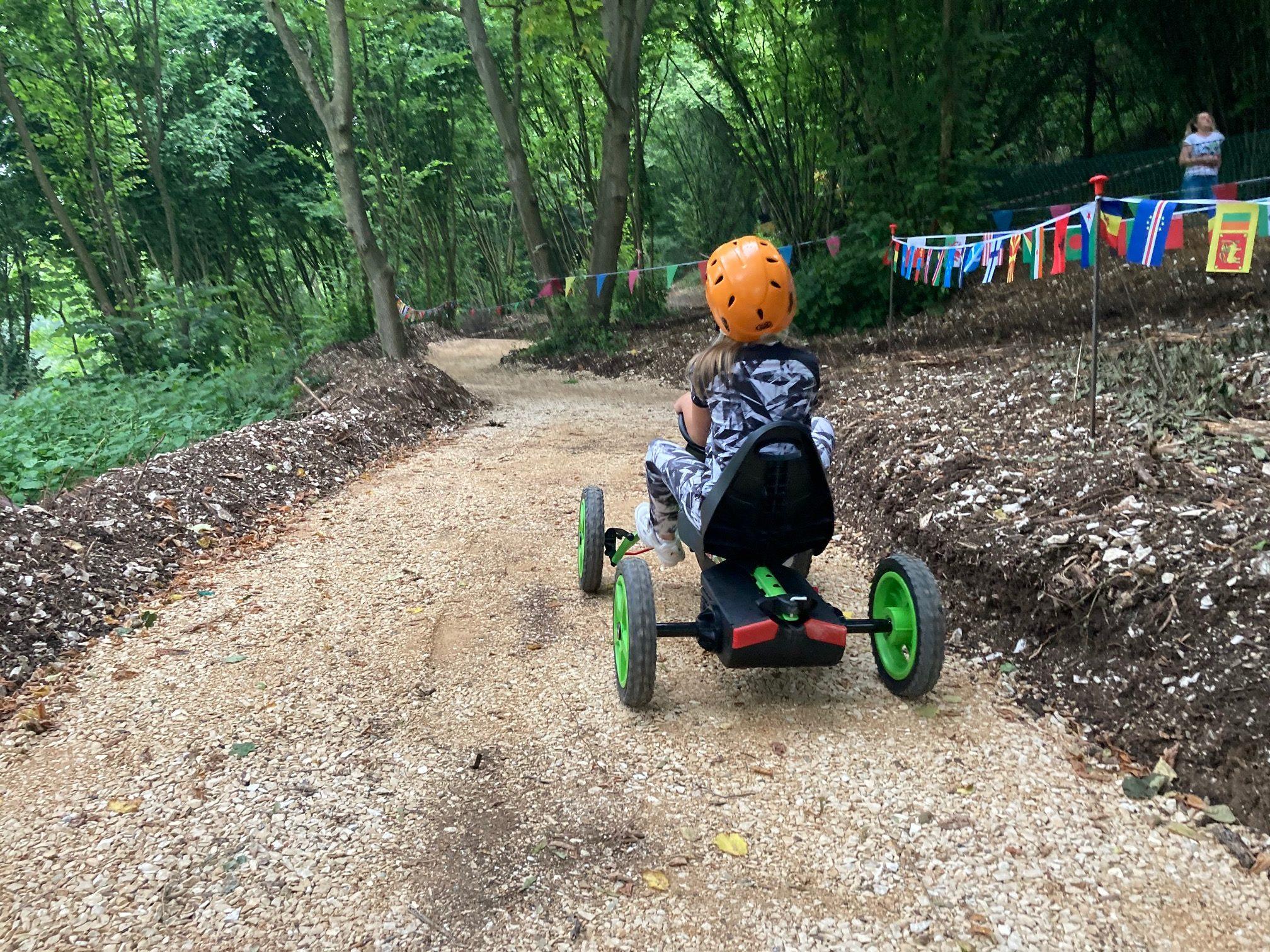 Pista quad a pedali Veja Adventure Park